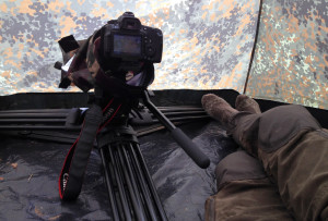 Canon 60D wnamiocie czatowni