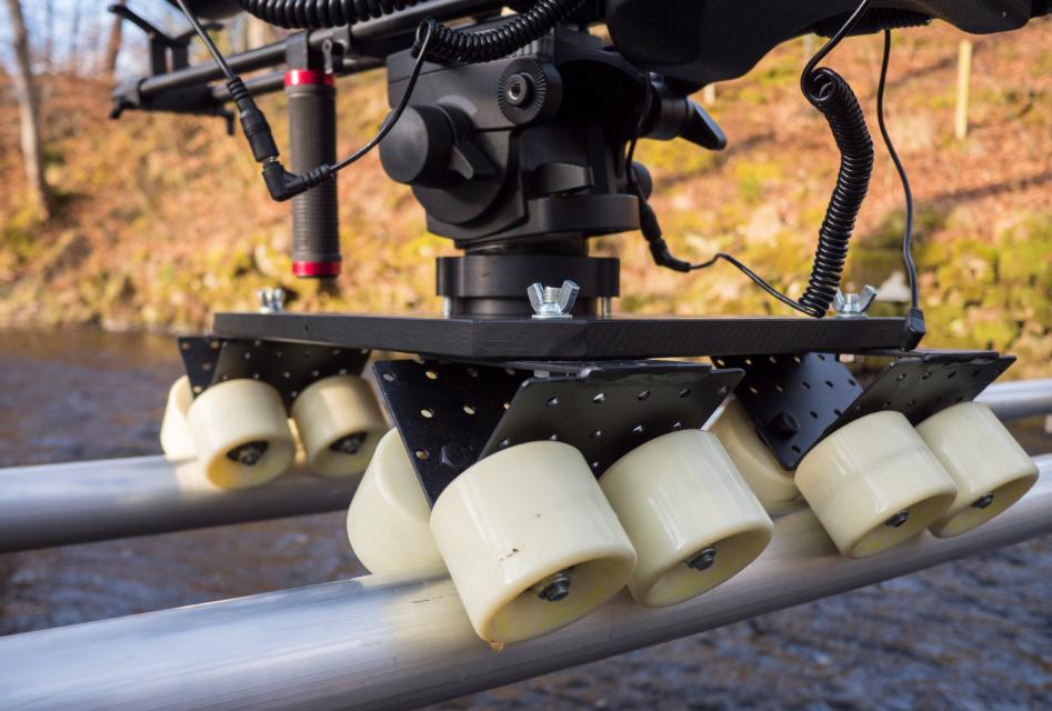 Kółeczka dowózka kamerowego dolly