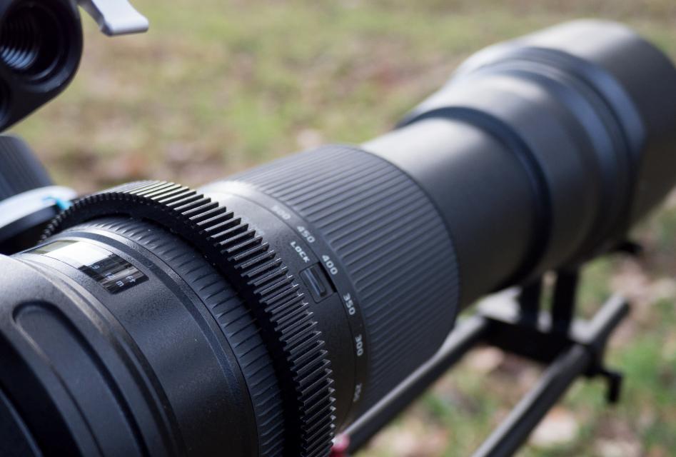 Tamron 150-600 dofilmowania przyrody